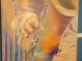 """""""Arte de tocar um instrumento - sax""""."""