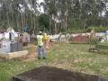 Limpeza cemitério Paiol
