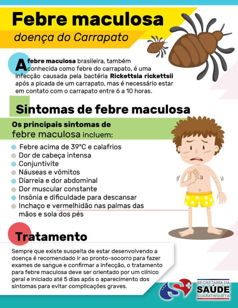 o que é a febre maculosa