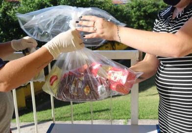 Mais de 29 mil kits merenda já foram entregues em Guaratinguetá