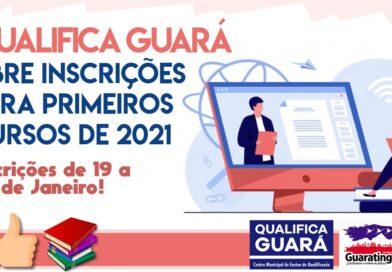 Qualifica Guará abre inscrições para primeiros cursos de 2021