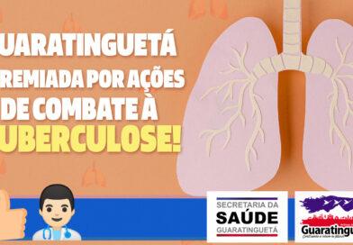 Guaratinguetá é premiada por ações de combate à tuberculose!