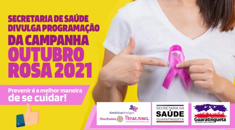 Campanha Outubro Rosa 2021