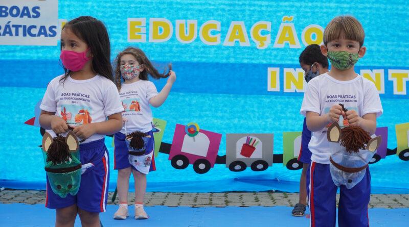 Secretaria da Educação realiza encontro sobre boas práticas na educação infantil