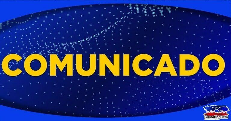 Comunicado sobre forma de contato com o Conselho Tutelar